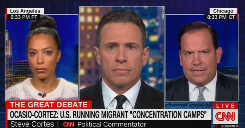 Steve Cortes: Border Detention Camps Aren't Concentration Camps Because Migrants Aren't US Citizens