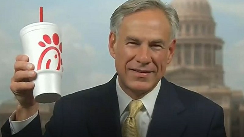 Greg Abbott Brags to 'Fox & Friends' That He Eats Chick-fil-A Five Days a Week