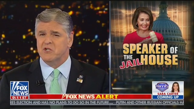 Hannity: It's 'Despicable Behavior' to Call for Political Opponents to be 'Locked Up'