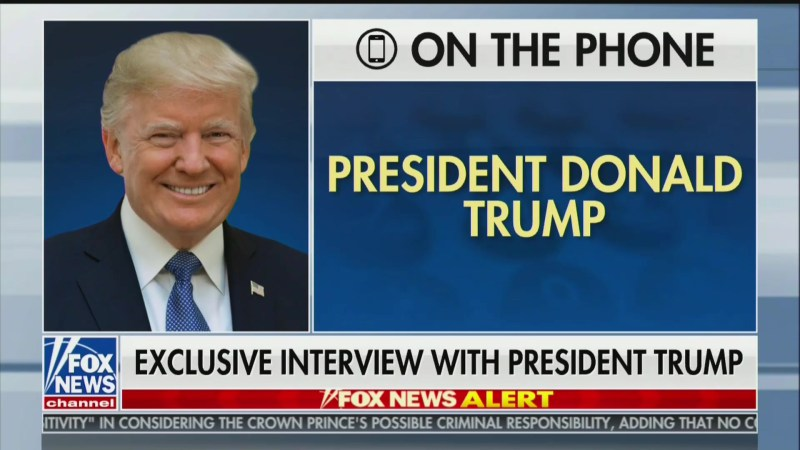 Hannity's Trump Interview Tops Wednesday's Cable News Ratings…But Doesn't Beat Stephanopoulos