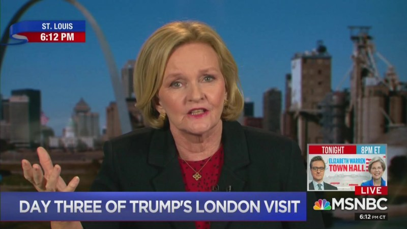 Claire McCaskill: Voters Supported Trump Because 'Barack Hussein Obama Didn't Get Us Change'