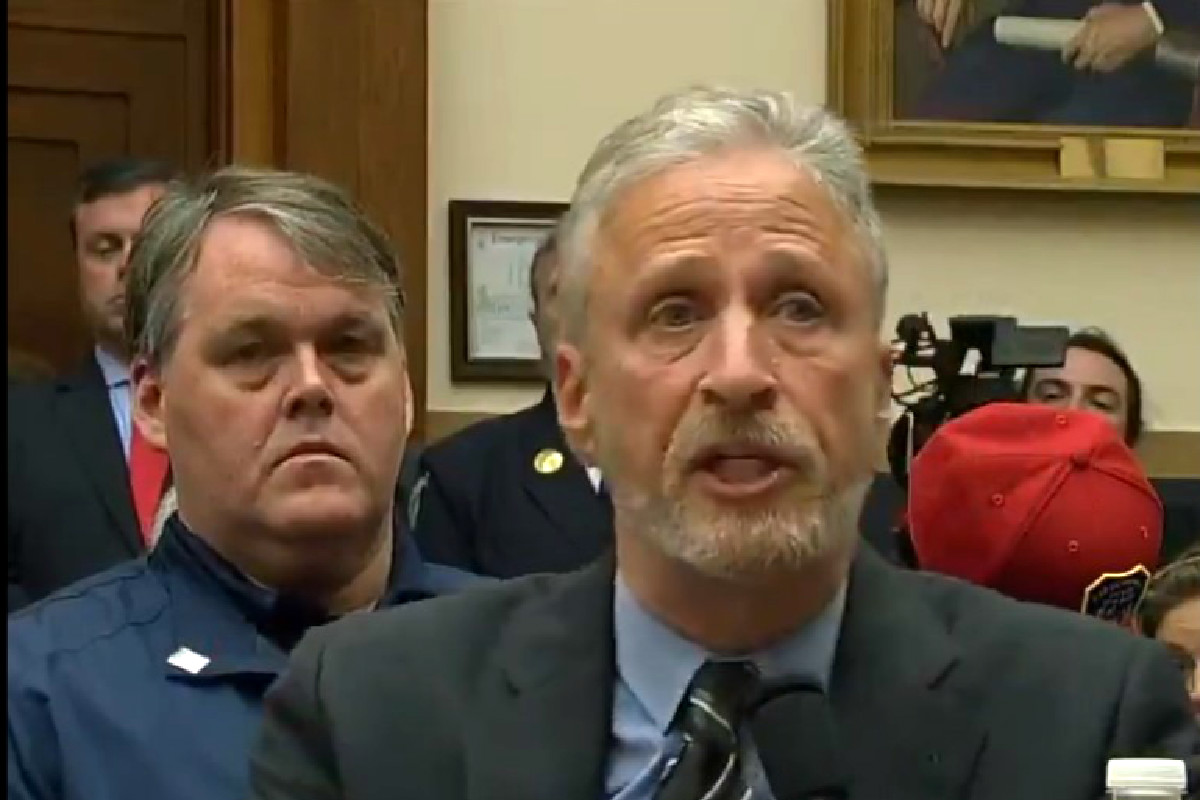 Jon Stewart Blasts Congress For Indifference Towards 9/11 Victims: 'Shameful!'