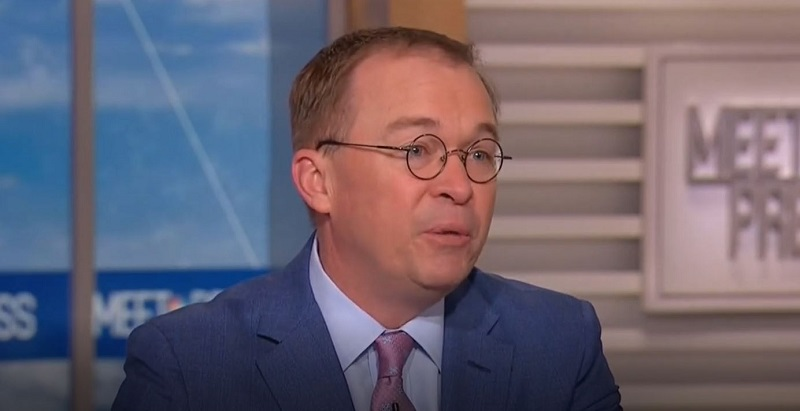 Mulvaney Dismisses Request to Move USS John S. McCain as 'Not an Unreasonable Question'