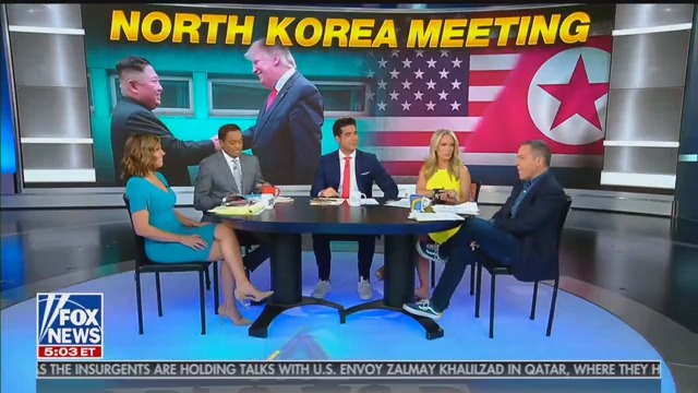 Fox News Hosts Admit Hypocrisy: We'd Attack Obama If He Met With Kim Jong Un