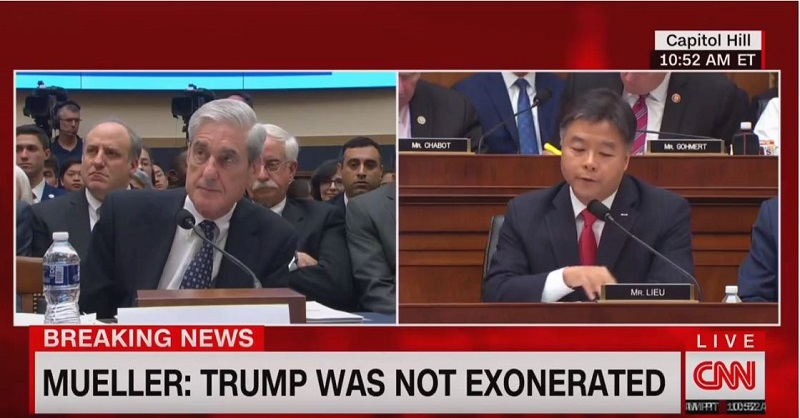 Mueller Says He Did Not Indict Trump Because of OLC Opinion, Later Walks It Back