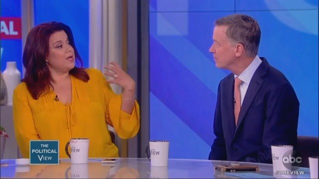 The View's Ana Navarro Confuses John Hickenlooper With Jay Inslee: 'All White People Look Alike Apparently'