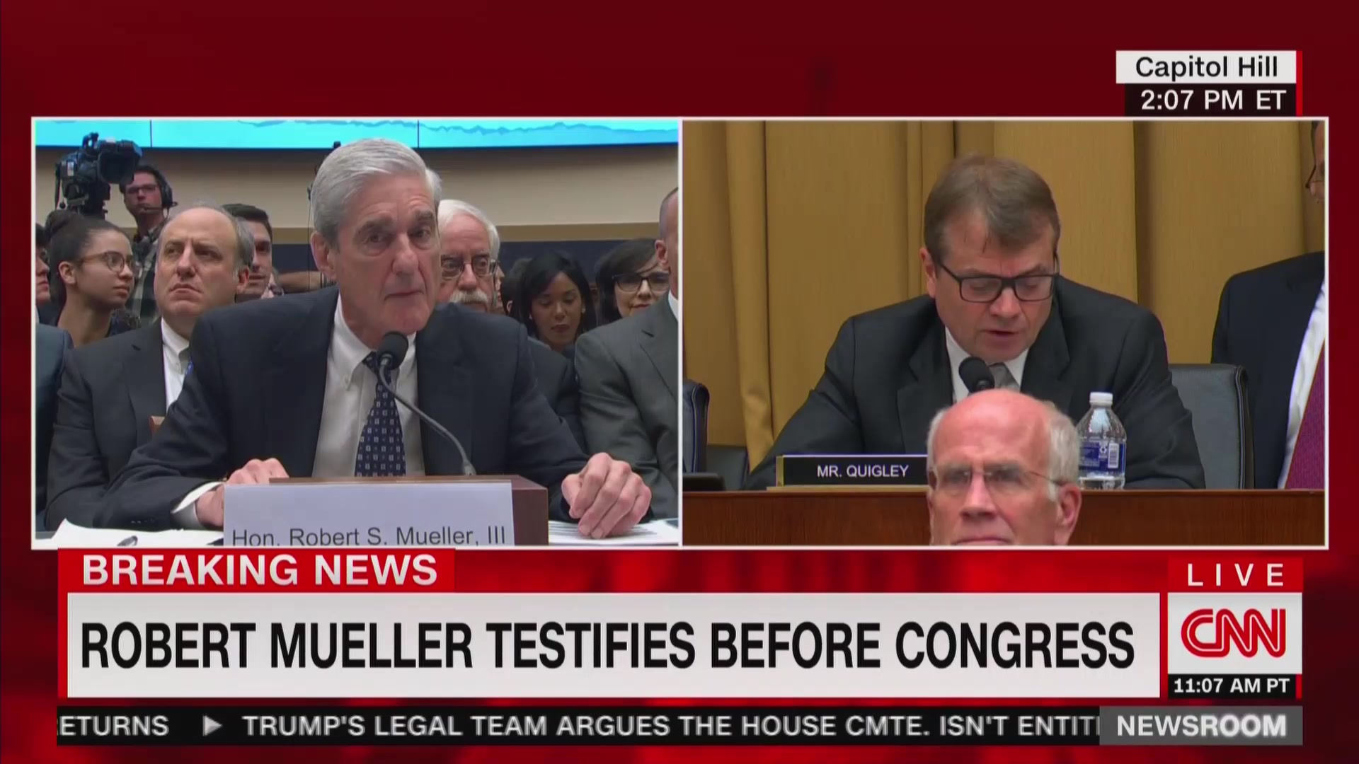 Mueller: 'Problematic' That Trump Boosted WikiLeaks' 'Illegal Activity' During Election