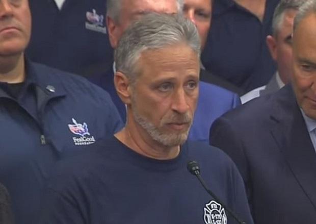WATCH: Jon Stewart Praises Advocates After Senate Renews 9/11 Victim Compensation Fund