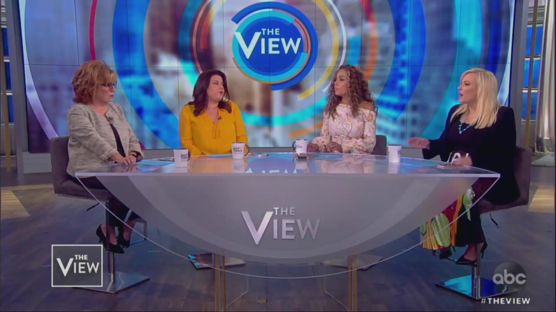 Meghan McCain and Joy Behar Duke It Out Over Republicans' Refusal to Call Out Trump's Racism