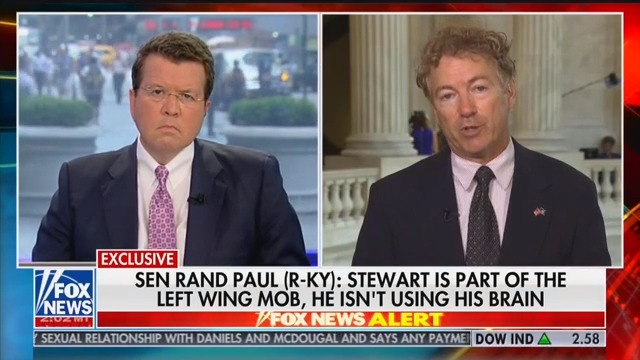Rand Paul Bashes Jon Stewart, Says He Should Be 'Commended and Loudly Cheered' For Blocking 9/11 Fund