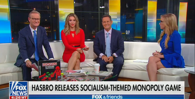In Bizarre Socialism Segment, Fox Hosts Agree: Nobody Has Ever Finished A Game Of Monopoly