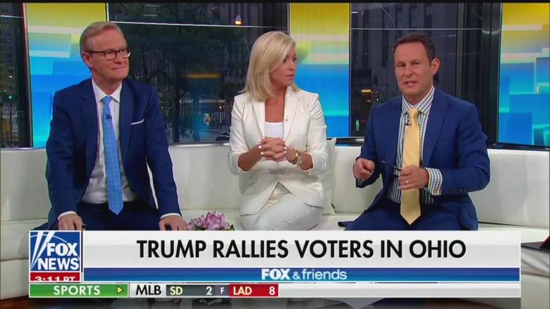 Fox & Friends' Ainsley Earhardt: Trump's a 'Blue-Collar' Worker From the 'Rust Belt'