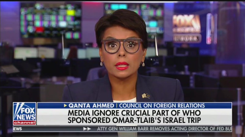 Fox Guest: Rashida Tlaib and Ilhan Omar Have 'Grotesque Holocaust Envy'