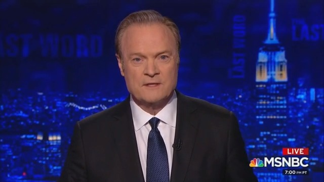 'I Was Wrong': Lawrence O'Donnell Apologizes Over Retracted 'Russian Oligarchs' Story
