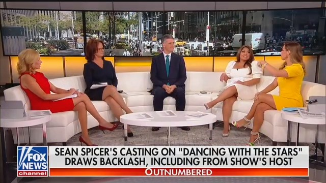 Fox Hosts Want Everyone to Give Sean Spicer a Break Over 'DWTS' Uproar: 'Just Let Him Dance!'
