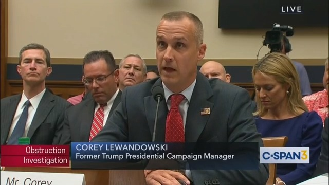 Corey Lewandowski: 'I Have No Obligation to Be Honest to the Media'