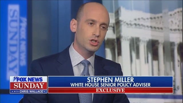 White House Advisor Stephen Miller Declares That Trump Is Really the 'Whistleblower'