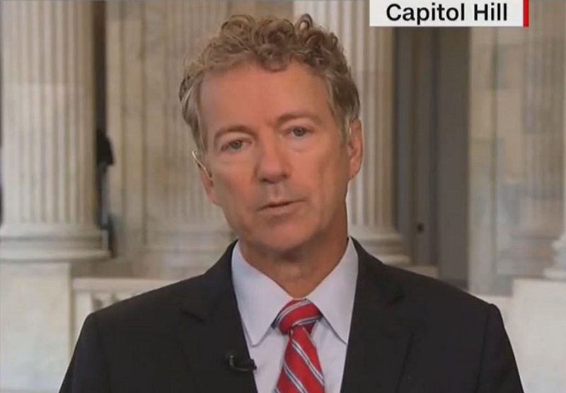 CNN Host Asks Rand Paul if He and Liz Cheney Are In a 'Butt-Kissing Contest' for Trump's Favor