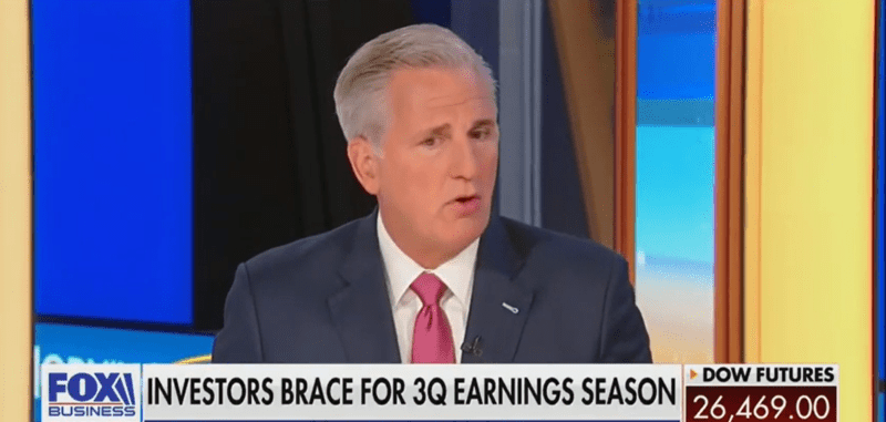 House Minority Leader Kevin McCarthy: 'Democrats in Congress Do Not Believe in the Rule of Law'