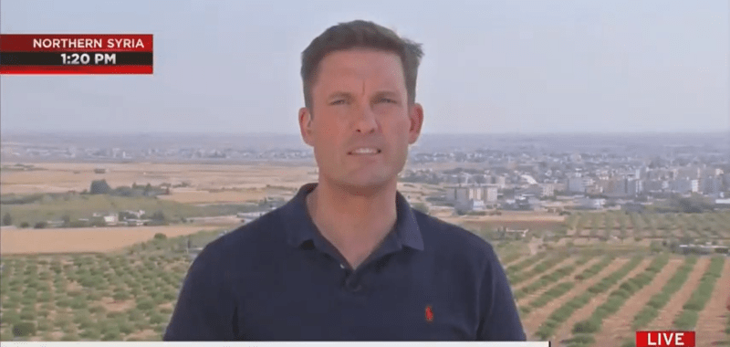 NBC's Keir Simmons: The Sound of Trump's Tweets Is Nothing Compared to Turkish Artillery