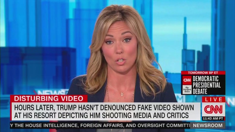 'I Want to Hear From You!' CNN's Brooke Baldwin Demands Trump Speak Out Against Violent Video