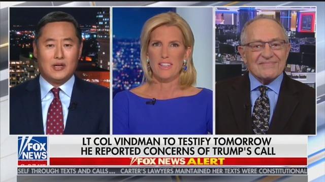 Fox Panel Suggests Trump Impeachment Witness Alexander Vindman Committed 'Espionage'