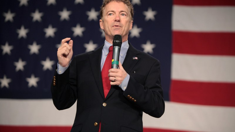 Rand Paul Slams 'The View': 'Those Women Go On and On Yelling and Screaming'