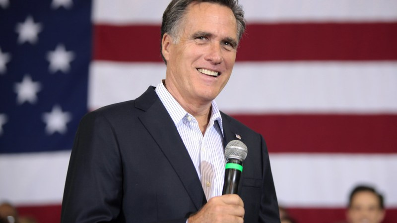 Republican Donors Reportedly Urge Mitt Romney to Primary Donald Trump