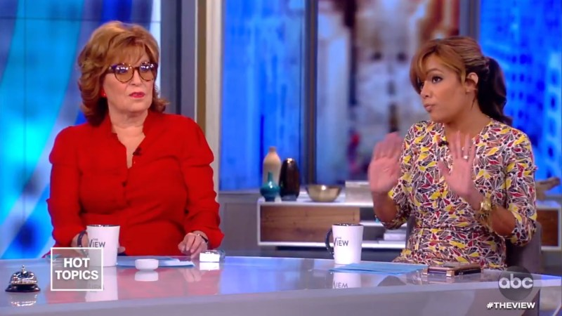 The View's Joy Behar and Sunny Hostin Applaud Hillary for Suggesting Tulsi Gabbard's a Russian Asset