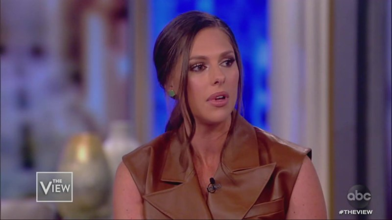 'Where Is the Leadership?' The View's Abby Huntsman Slams Trump's Silence on Violent Video