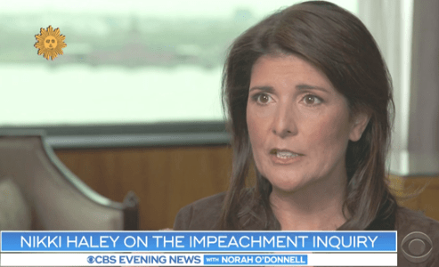 Nikki Haley Ridiculed for Comparing Impeachment to the Death Penalty