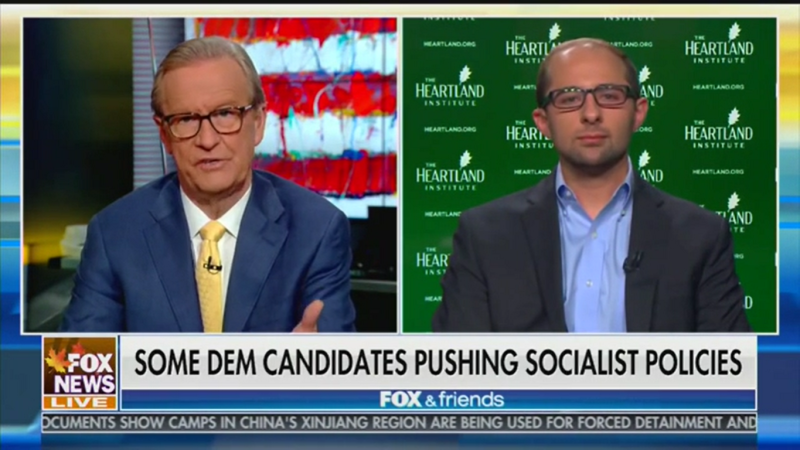 Fox News Guest: 'The Vast Majority of the Presidential Candidates Right Now Are Socialist Candidates'
