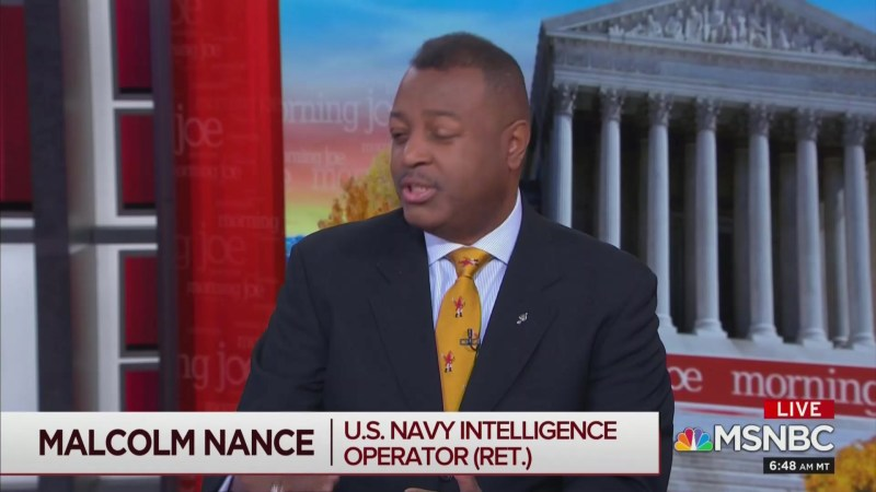 MSNBC's Malcolm Nance: Trump's a Russian Asset Who Was Compromised as 'Early as 1977'