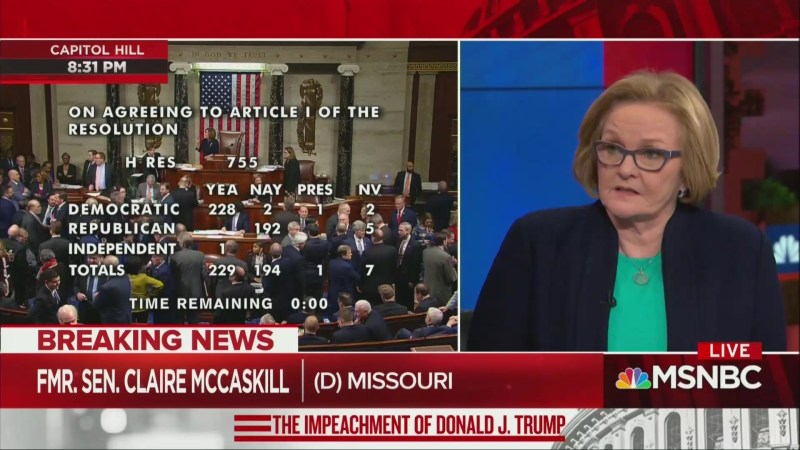 'That's Just Stupid!' Claire McCaskill Tears Into Tulsi Gabbard Over 'Present' Vote