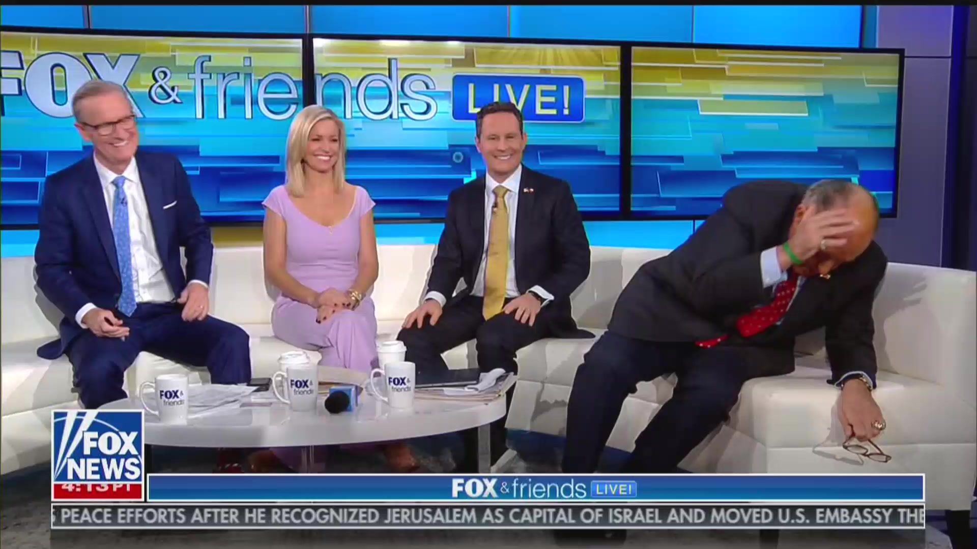 'Fox & Friends' Repeatedly Tries and Fails to End Interview With Rudy Giuliani