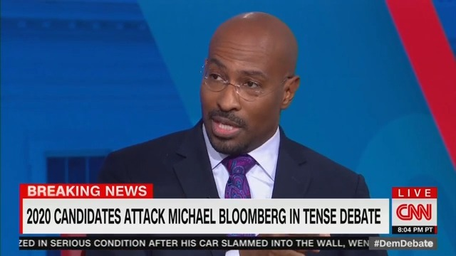 CNN's Van Jones: Bloomberg Was the 'Titanic' and Met by 'Iceberg Elizabeth Warren' at Debate