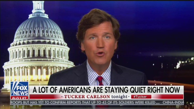 Tucker Carlson Reassures Viewers They're 'Not Crazy' For ...