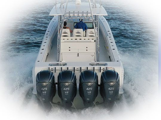 Contender Boats 44CB Quad XTO Yamah 425