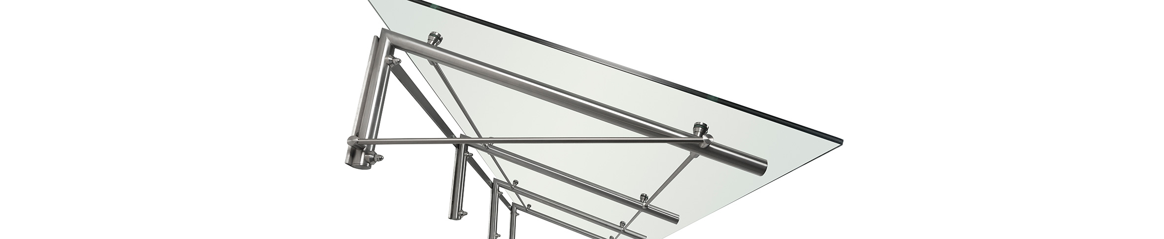 Comet-Vordach-Edelstahl-Haustür-Alu-Aluminium-Vordächer