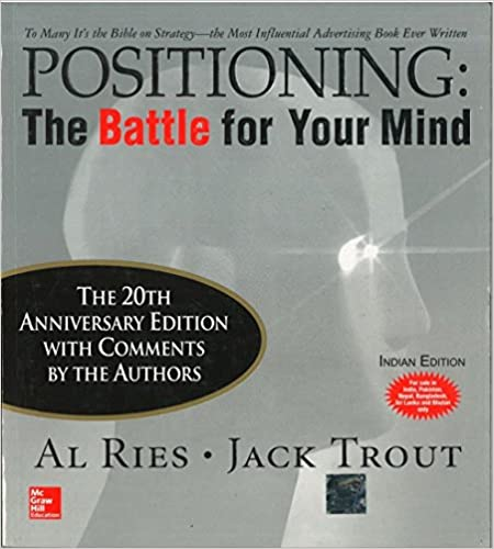 positioning - the battle for your mind = best marketing books
