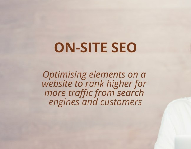 What is On-Site SEO