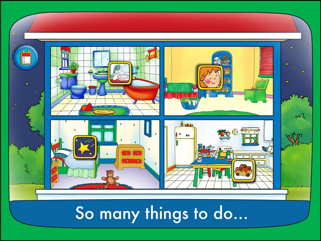 Celebrate The New Year With Caillou S Educational Apps For Kids