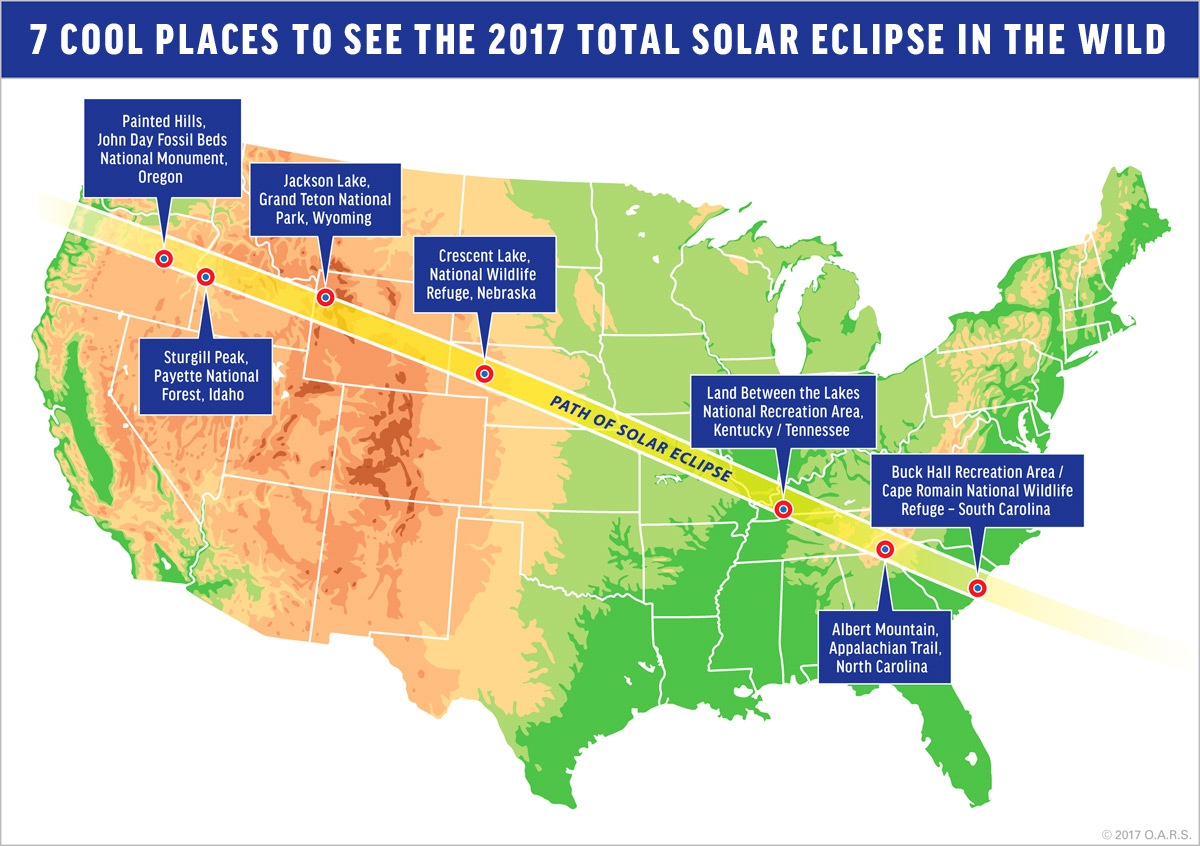 Where Will You Be For The Total Solar Eclipse