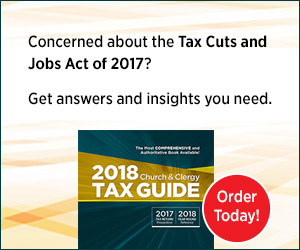 2018 Church & Clergy Tax Guide