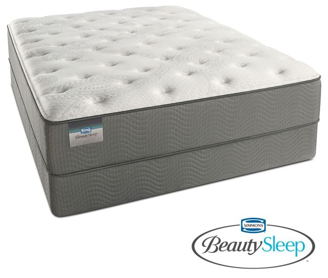 Stags Leap Luxury Firm Queen Mattress And Foundation Set