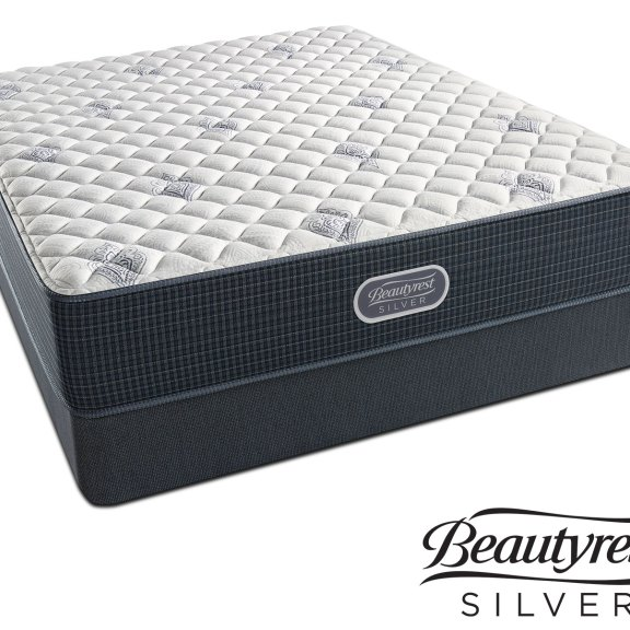 1 199 97 White River Extra Firm California King Mattress And Split Foundation Set By Beautyrest Silver