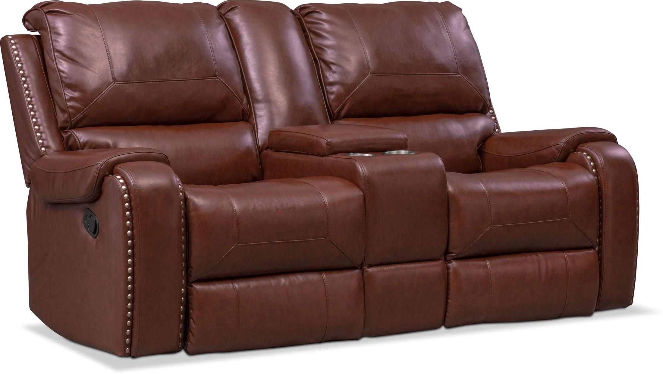 austin dual power reclining sofa