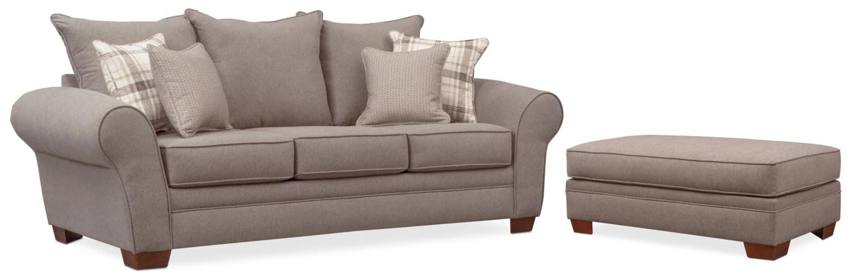 rowan sofa and ottoman set