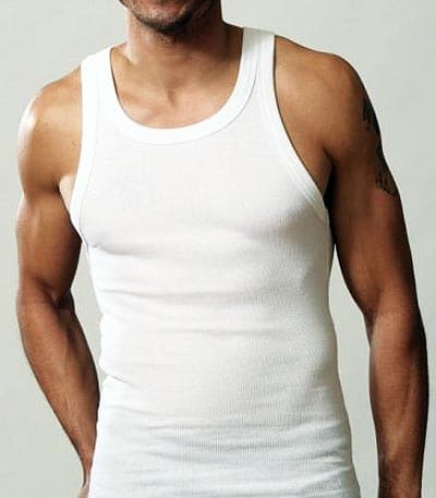 White-Cotton-Tank