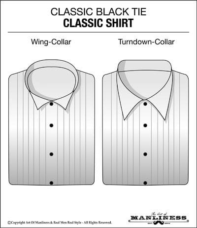 Black-tie-AOM-tuxedo-400-Classic-Shirt